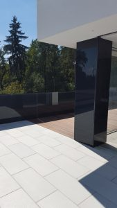 Iframe Glass Fence