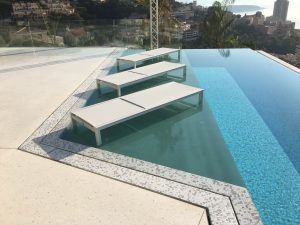iFRAME pool glass