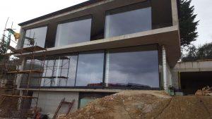 iFRAME glass panes installation