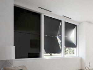 vertical folding shutters